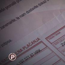 Račun koji je zaprimila obitelj Zukanović (Foto: Provjereno)