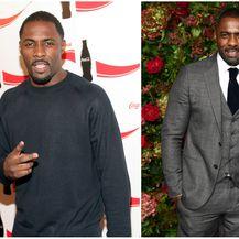 Idris Elba 2005. i 2018. godine