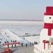 U kineskom gradu Harbinu otvoren festival leda i snijega (Foto: Vijesti u 14h) - 3