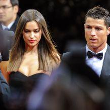 Irina Shayk i Ronaldo (Foto: AFP)