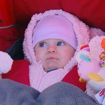 Beba u kolicima (Foto: Dnevnik.hr)