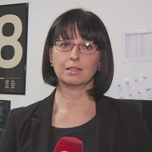 Marina Bešić Đukarić razgovara s Davorom Sušcem iz Osjek Softwer Cityja (Foto: Dnevnik.hr)