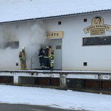 Požar u skladištu u Sloboštini kod Požege (Foto: A. M./034portal.hr) - 6