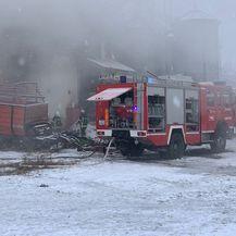 Požar u skladištu u Sloboštini kod Požege (Foto: A. M./034portal.hr) - 7