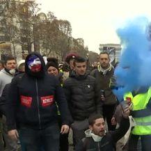 Prosvjed u Parizu (Video: Reuters)