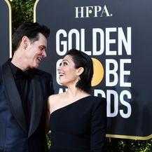 Jim Carrey i Ginger Gonzaga (Foto: AFP)