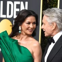 Catherine Zeta Jones i Michael Douglas (Foto:AFP)