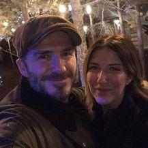 David i Joanne Beckham (Foto: Instagram)