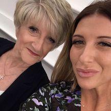Joanne Beckham s majkom (Foto: Instagram)