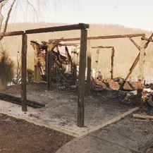 Izgorjela kuća sedmeročlane obitelji iz Nove Ljeskovice (Foto: Dnevnik.hr)