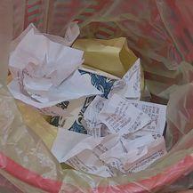 Koš za smeće (Foto: Dnevnik.hr)