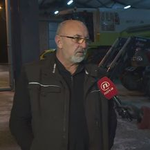 Vlasnik OPG-a Petar Pranjić i Matea Drmić (Foto: Dnevnik.hr)