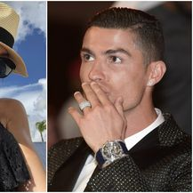 Jasmine Lennard i Ronaldo (Twitter/AFP)