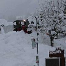 Snježno nevrijeme u Europi (Video: Vijesti u 17h)