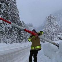 Snježno nevrijeme u Europi (Video: Dnevnik Nove TV)