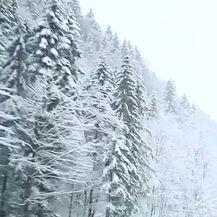Austrija je zatrpana snijegom (Video: Reuters)