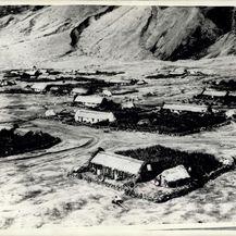 Fotografija snimljena iz helikoptera 1957.