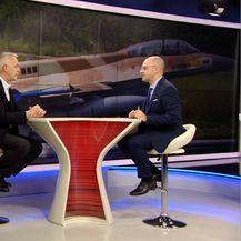 Gost Dnevnika Nove TV bivši ministar obrane Jozo Radoš (Foto: Dnevnik.hr) - 3