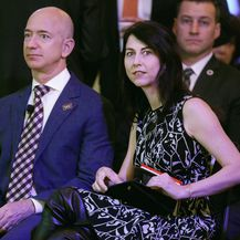 Jeff i MacKenzie Bezos (Foto: Getty Images)