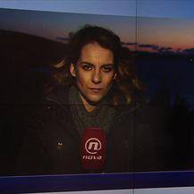 Paula Klaić Saulačić uživo iz Plata o potrazi za nestalim radnikom nakon požara u hidroelektrani (Video: Vijesti u 17 h)