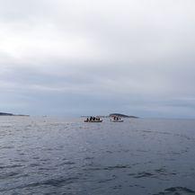 Veliki je broj građana s vlastitim brodicama odlučio pomoći (Foto: Paula Klaić Saulačić)