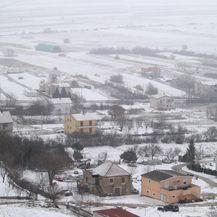 Okolica Sinja pod snijegom, ilustracija (Foto: Ivo Cagalj/PIXSELL)