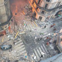 Eksplozija plina u Parizu (Foto: AFP)