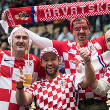 Hrvatski navijači u Munchenu (Foto: Sven Hoppe/DPA/PIXSELL)