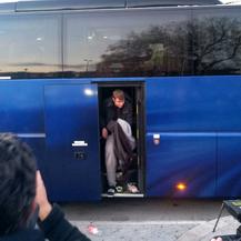 Splitski srednjoškolci stigli u Split nakon havarije u Švicarskoj (Foto: Mario Jurič/Dnevnik.hr)