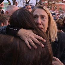 Roditelje i učenike preplavile su emocije (Foto: Dnevnik.hr)