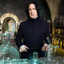 Alan Rickman oduševio je ulogom Severusa Snapea