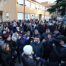 U Metkoviću održan prosvjed potpore Kseniji Kaleb (Foto: Ivo Cagalj/PIXSELL) - 2