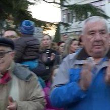 U Metkoviću održan prosvjed potpore Kseniji Kaleb (Video: Dnevnik Nove TV)
