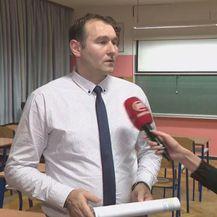 Josip Petrović, ravnatelj OŠ Trnsko, i Sanja Vištica (Foto: Dnevnik.hr)