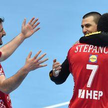 Duvnjak, Stepančić i Šego (Foto: AFP)