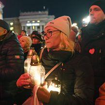 Prosvjed u Varšavi (Foto: Janek SKARZYNSKI / AFP)