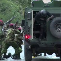 Napad u Nairobiju (Foto: Raphael AMBASU / AFP)