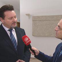 Ministar uprave Lovro Kušćević i Mislav Bago (Foto: Dnevnik.hr)