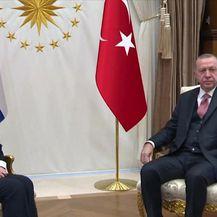 Predsjednica Kolinda Grabar-Kitarović u posjetu Turskoj (Video: Dnevnik Nove TV)