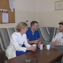 Josip Smokvina s kolegama iz KBC-a Rijeka (Foto: Dnevnik.hr)