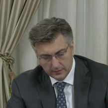 Premijer Plenković komentirao je incident u Saboru (Video: DNEVNIK.hr)