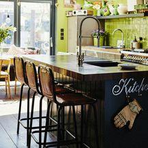 Kuhinja u zelenoj boji - 14