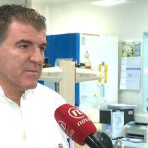 Doc. dr. sc. Rok Čivljak, zamjenik ravnateljice Klinike za infektivne bolestid dr. Fran Mihaljević