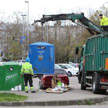 Radnici Čistoće (Foto: Jurica Galoic/PIXSELL)