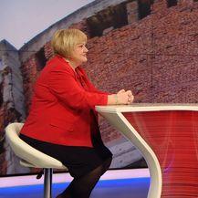 Ivana Brkić Tomljenović razgovara s predsjednicom Glasa Ankom Mrak Taritaš (Foto: Dnevnik.hr) - 2