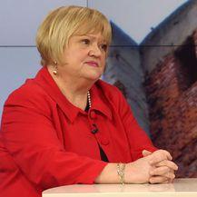 Gost u Dnevniku Nove TV predsjednica Glasa Anka Mrak Taritaš (Foto: Dnevnik.hr)