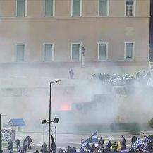 Grci protiv sjeverne Makedonije (Video: Dnevnik Nove TV)