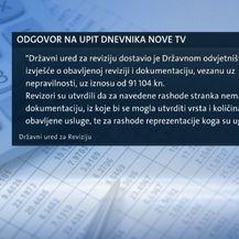 Odgovor na upit Dnevnika Nove TV (Foto: Dnevnik.hr)