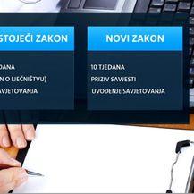Grafika postojećeg i novog zakona (Foto: Dnevnik.hr)