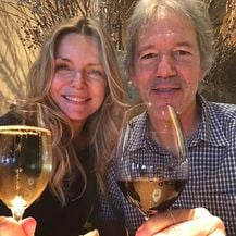 Michelle Pfeiffer i David E. Kelley (Foto: Instagram)